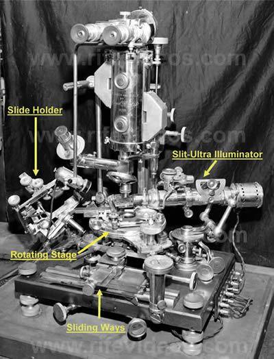 Dr. Rife Dunkelfeldmikroskop